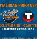Puolivärien ensimmäinen ottelu HC Vantaa-Tuuski